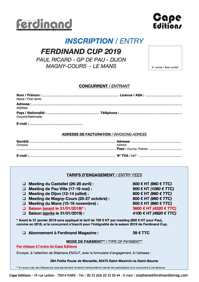 Challenge FERDINAND Cup 2019 Engage10