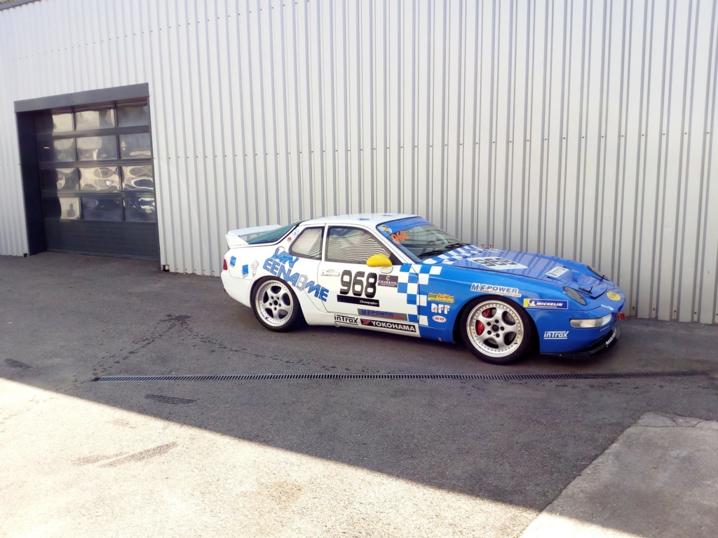 [968 TURBO] Une 968 turbo Rs replica pour courrir - Page 39 Img_2029