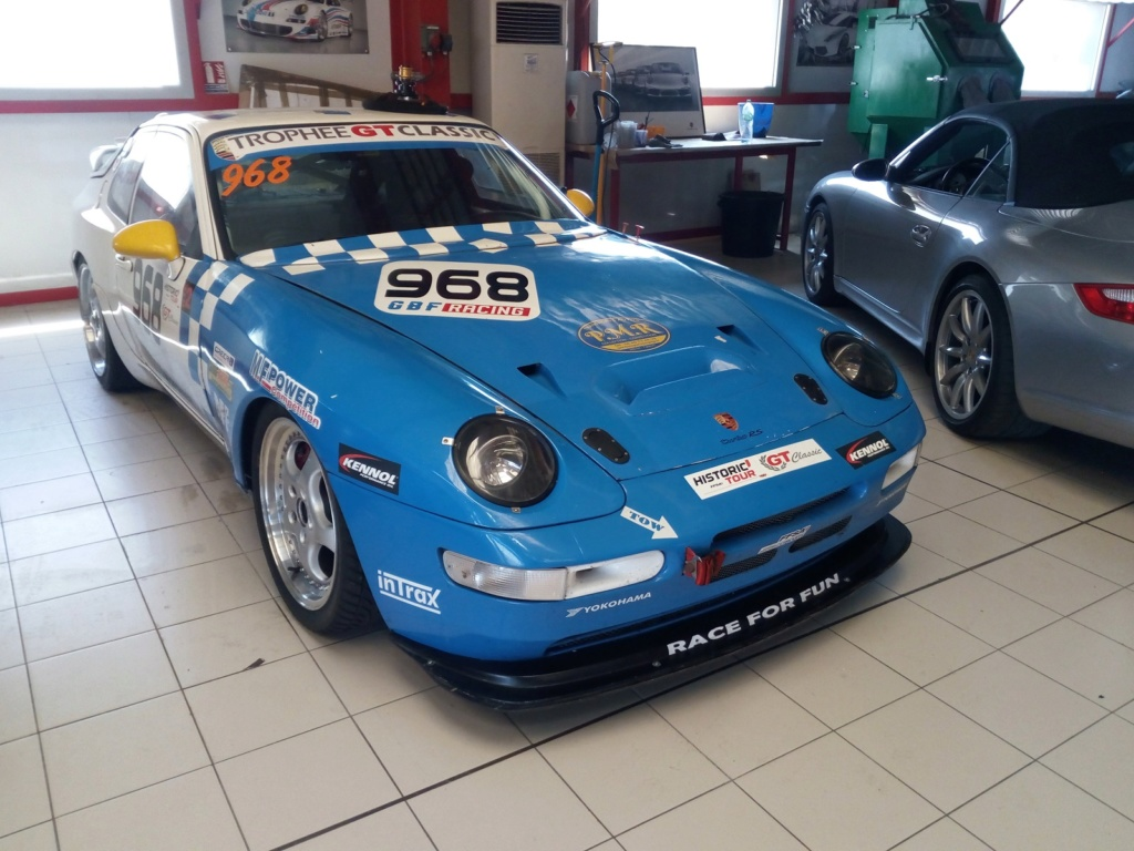 [968 TURBO] Une 968 turbo Rs replica pour courrir - Page 17 Img_2333