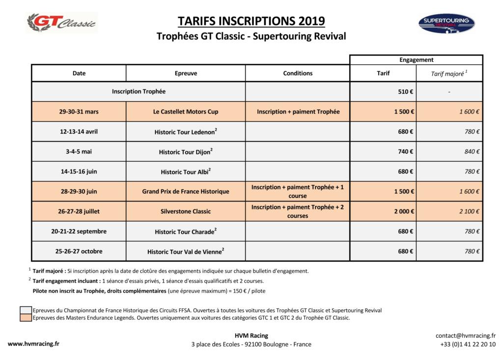 GT Classic 2019 Tarifs10