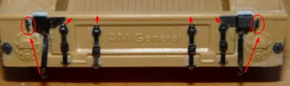 Hummer M1025 Academy Detail10