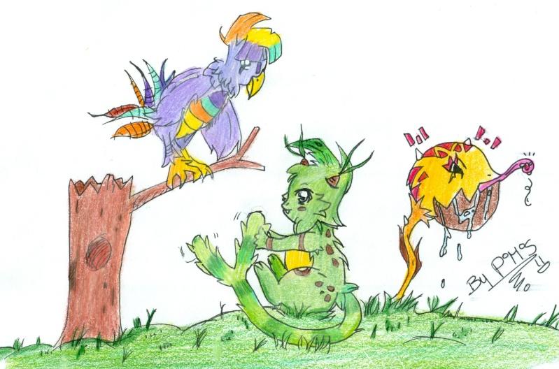 Carnet de dessin d'un Petit Pokabu... - Page 2 Dessin10