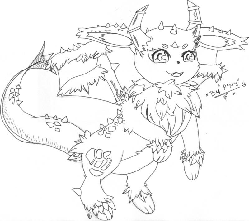 Carnet de dessin d'un Petit Pokabu... - Page 2 Evoli_10