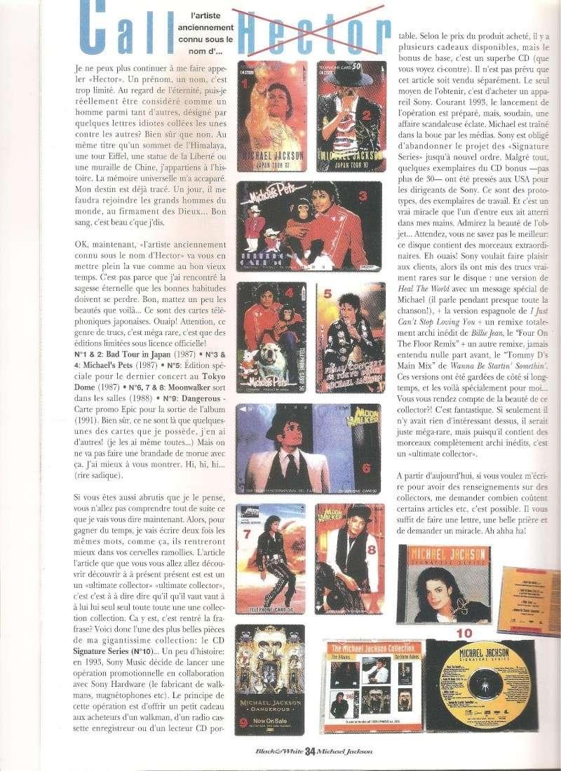 Les rubriques collectors de Black & White Magazine Photo113