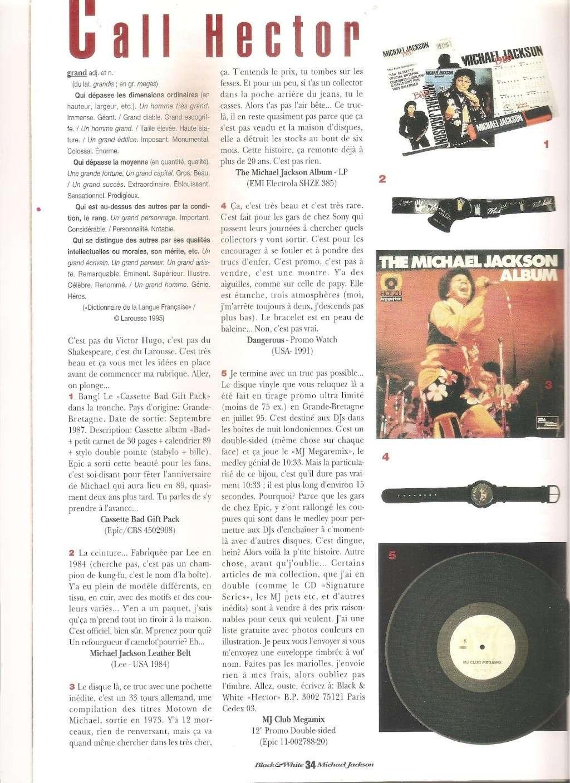 Les rubriques collectors de Black & White Magazine Photo116