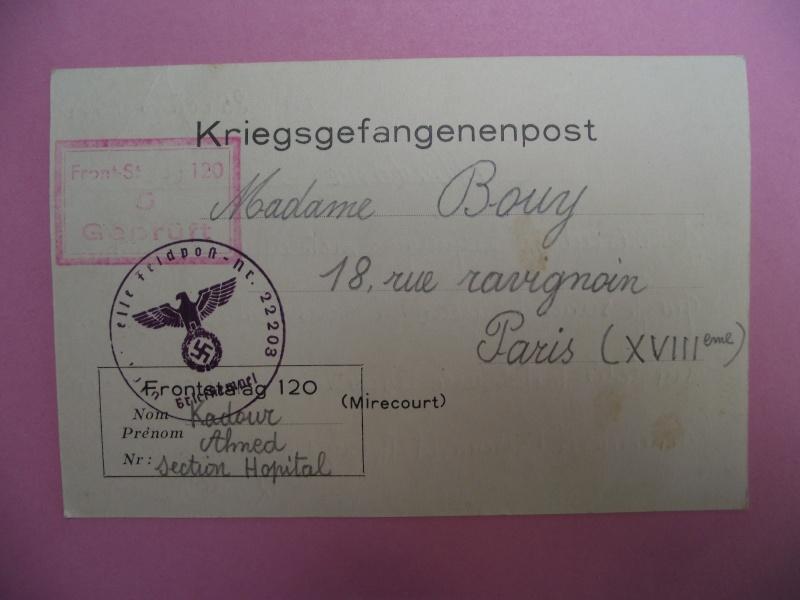 lettres de prisoniers de guerre Lettre15