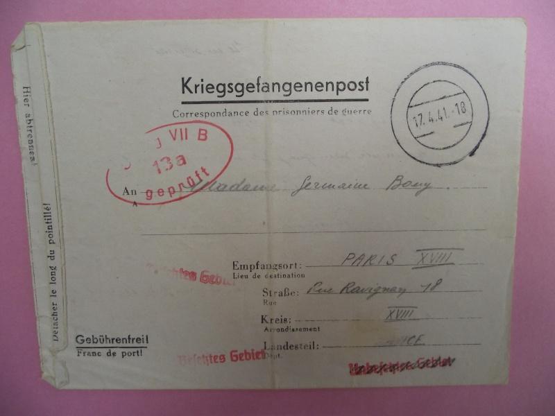lettres de prisoniers de guerre Lettre22