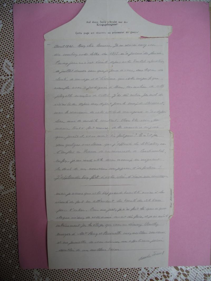 lettres de prisoniers de guerre Lettre24