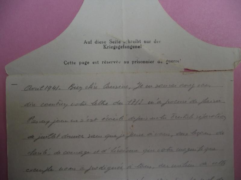 lettres de prisoniers de guerre Lettre25