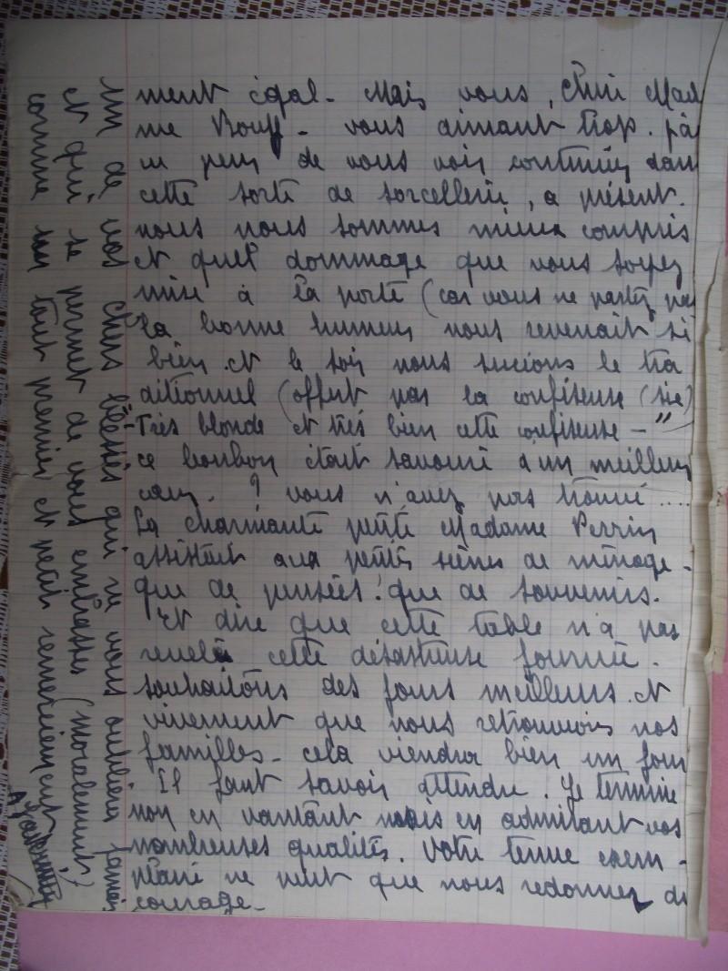 lettres de prisoniers de guerre Lettre34