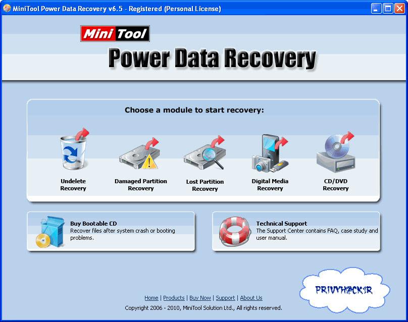 الاداة العملاقة MiniTool Power Data Recovery v6.5 Pdr_ma10