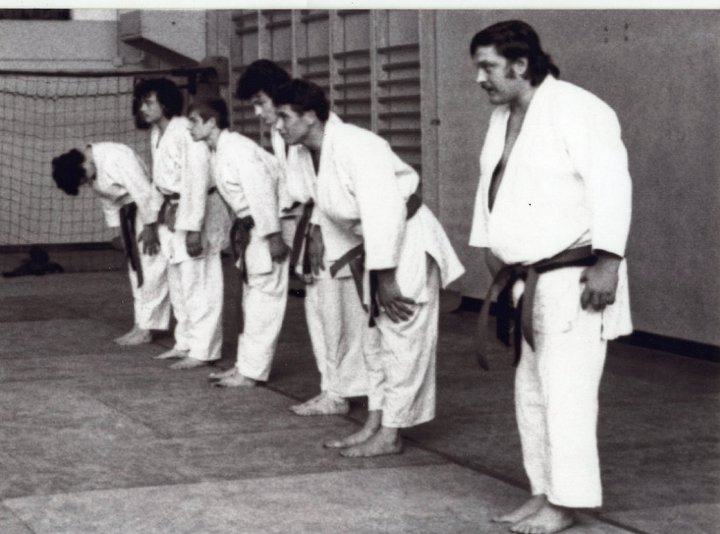 Mouzaoui Saadi (Akkar Aokas) champion de France 1975 en judo. 16390010