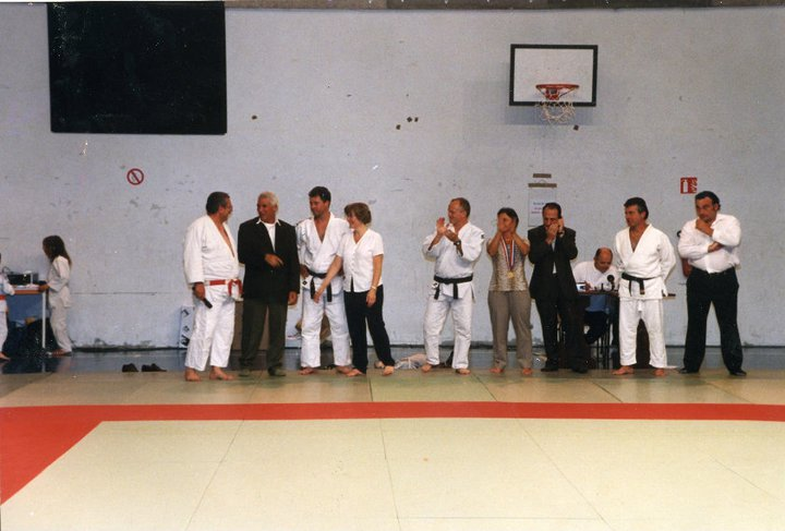 Mouzaoui Saadi (Akkar Aokas) champion de France 1975 en judo. 16534710