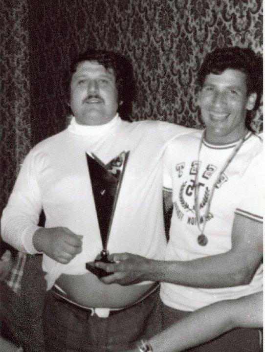 Mouzaoui Saadi (Akkar Aokas) champion de France 1975 en judo. 16710610