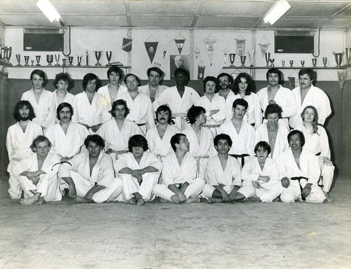 Mouzaoui Saadi (Akkar Aokas) champion de France 1975 en judo. 16732910