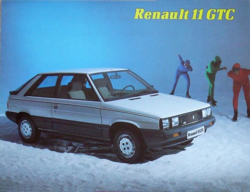 RENAULT 11 SOCIETE / COMMERCIALE Catalo10
