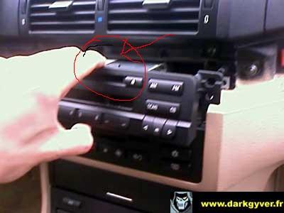 [BMW 320 d E46] Comment enlever l'autoradio MK3 ? Radio-10
