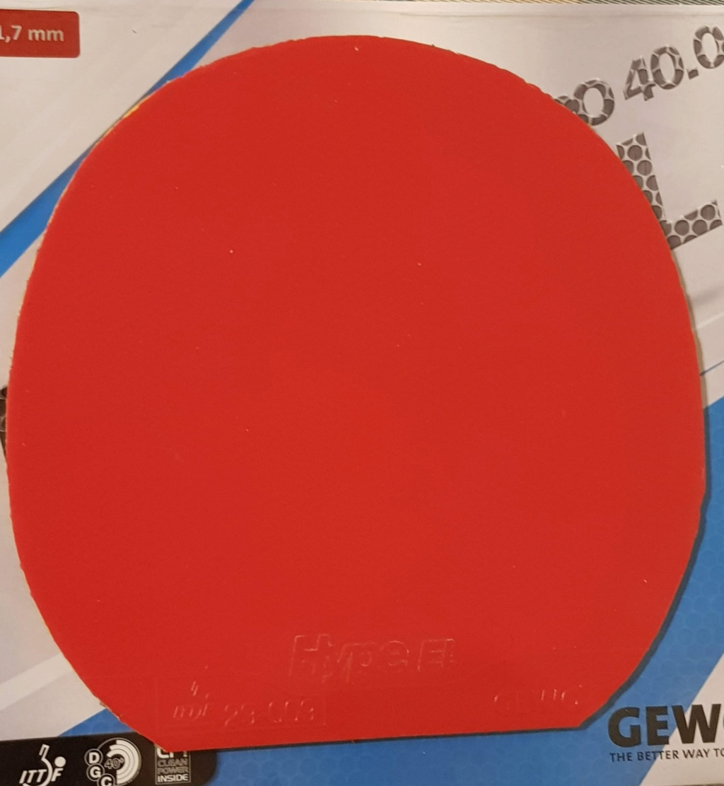 Gewo Hype EL 40 rouge 1,7mm rouge 20190327