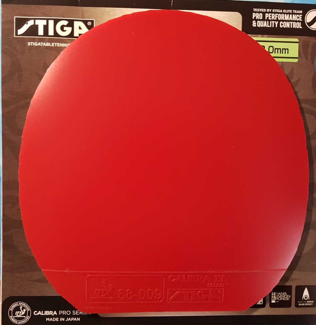 Stiga Calibra LT Sound rouge 2mm 20190612