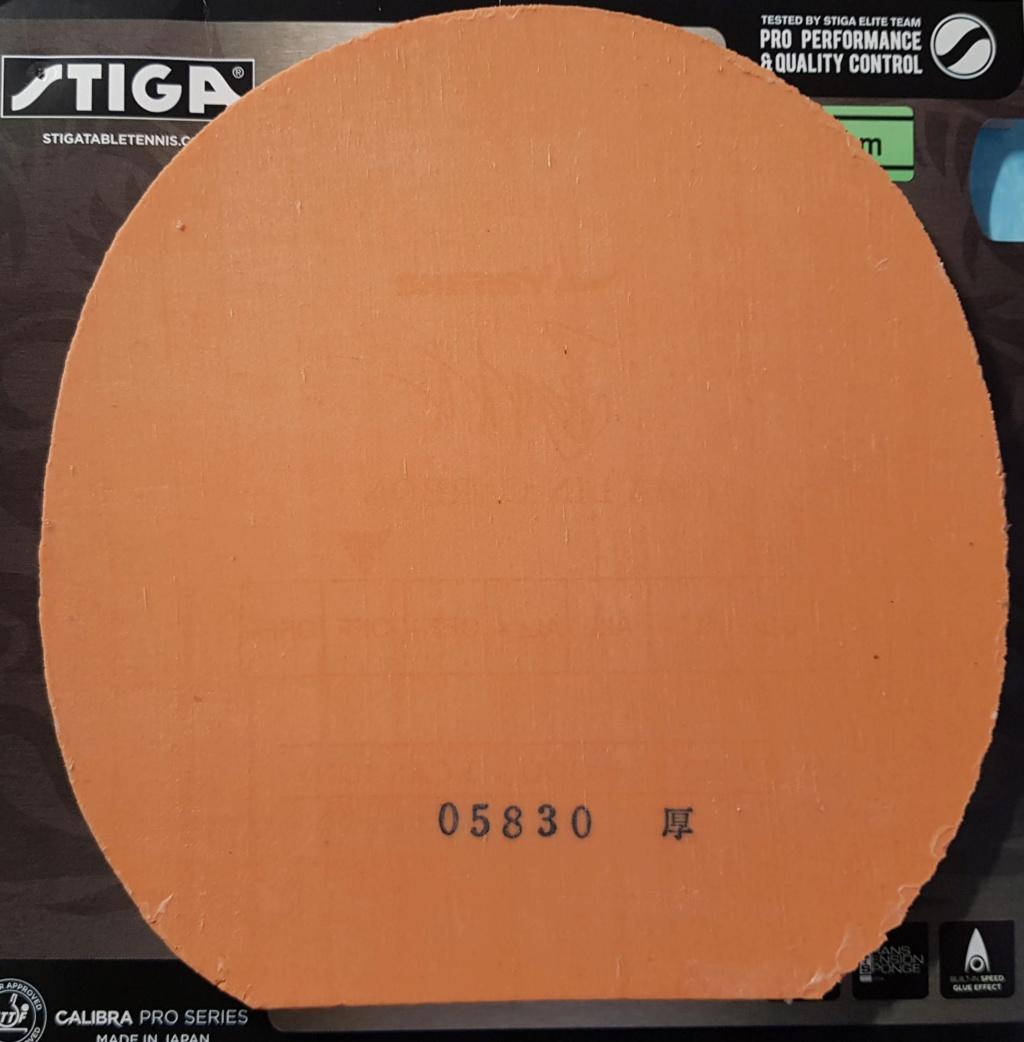 Stiga Calibra LT Sound rouge 2mm 20190613