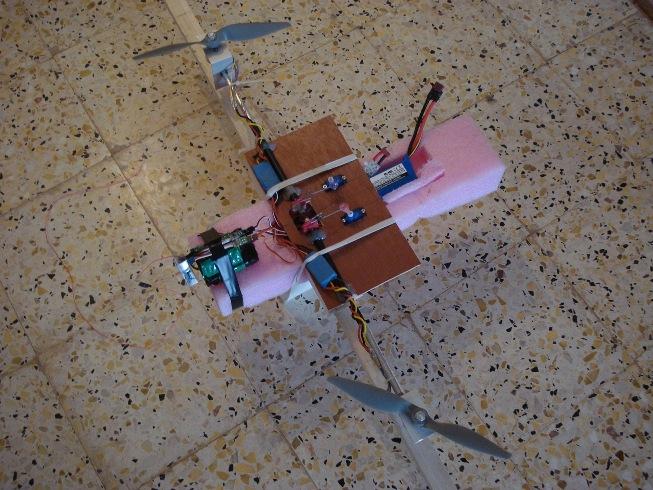 "Vtol ""bi-rotor, tri-rotor, quadri-rotor - Page 2 Dsc06610"