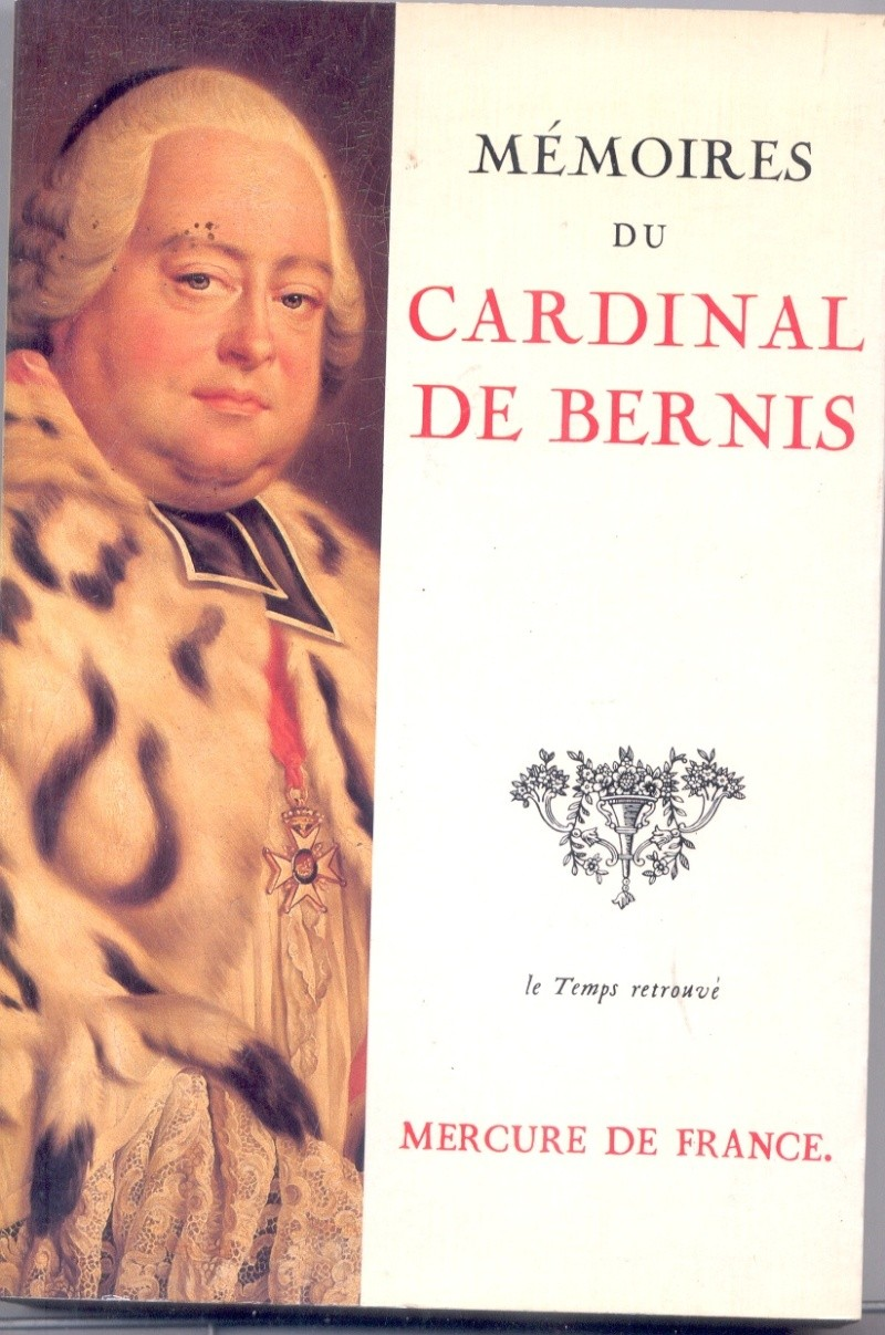 François Joachim de Pierre de Bernis, cardinal de Bernis Bernis12