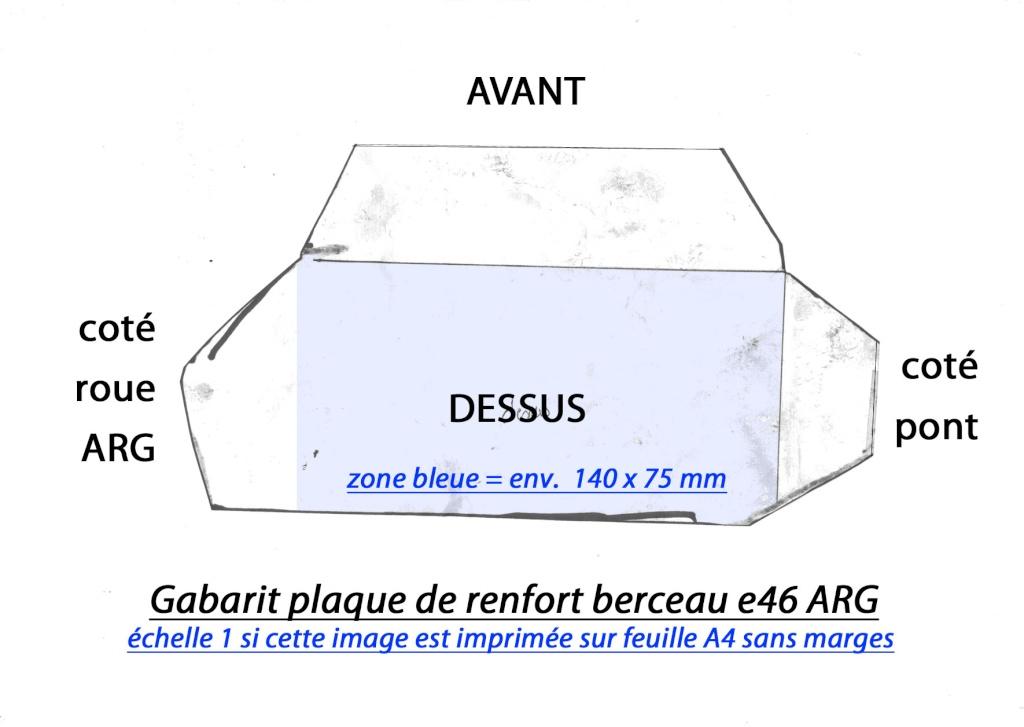 [ BMW E46 an 1999>2002 ] Info Fissure Fixation berceau AR (résolu) Renfor12
