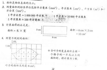 四年级科学笔记(三) Snt40810