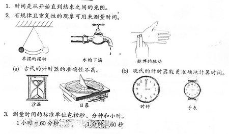 四年级科学笔记(三) Snt41110
