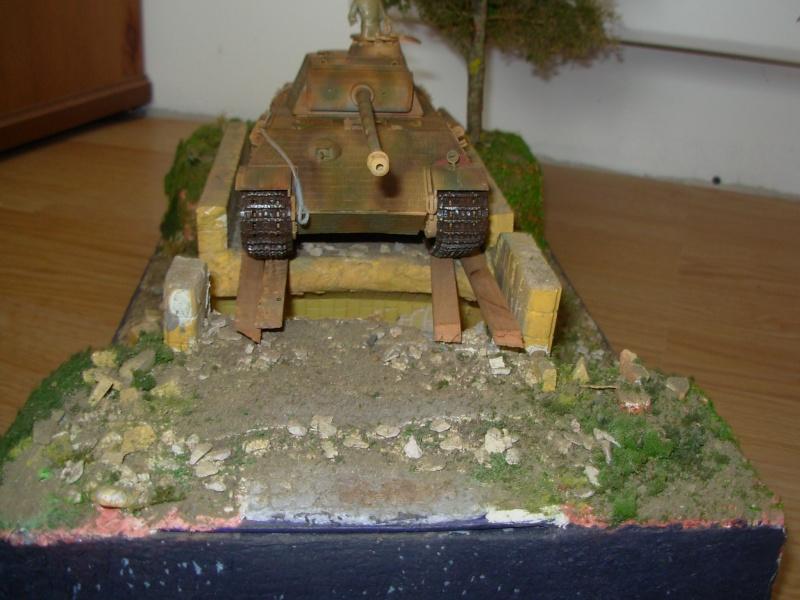 petit pont normand......passe ou passe pas ???????(panther tam 1/35eme+ zim verlinden fig dragon,tam) Dscn0011