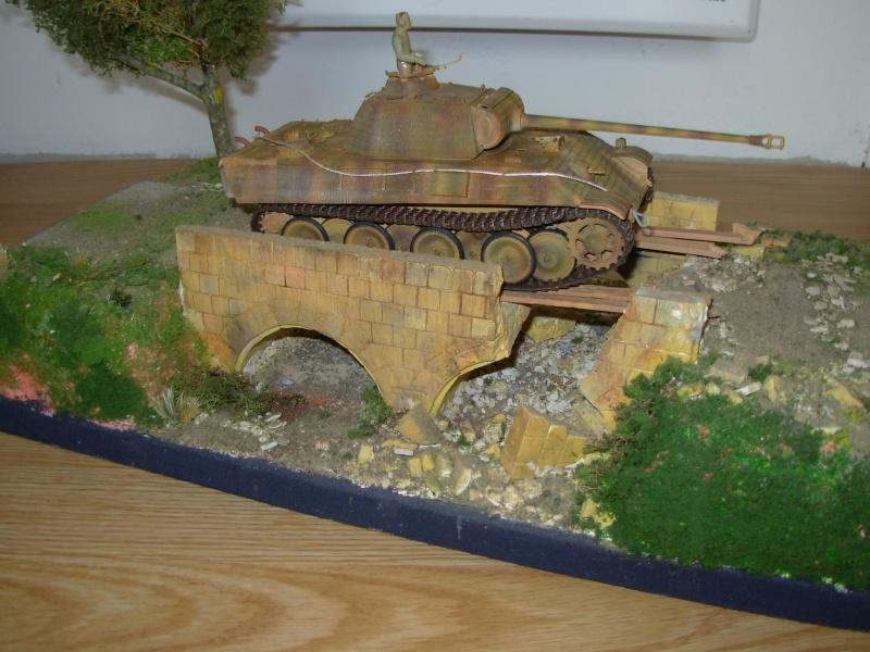 petit pont normand......passe ou passe pas ???????(panther tam 1/35eme+ zim verlinden fig dragon,tam) Dscn0014