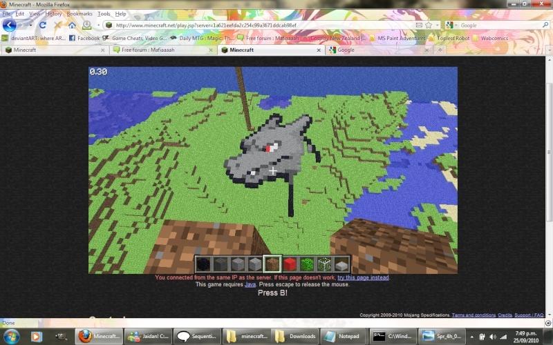 Minecraft Chariz10