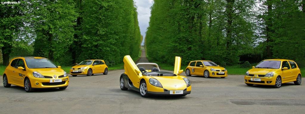 Renault Sport Aquitaine: R21-GT Turbo, Clio 16s-Williams, Clio Rs-V6, Spider, Twingo, Mégane Rs