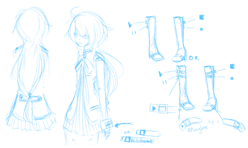 UTAU Design: Opinions and Critiques wanted!  Kiyone11