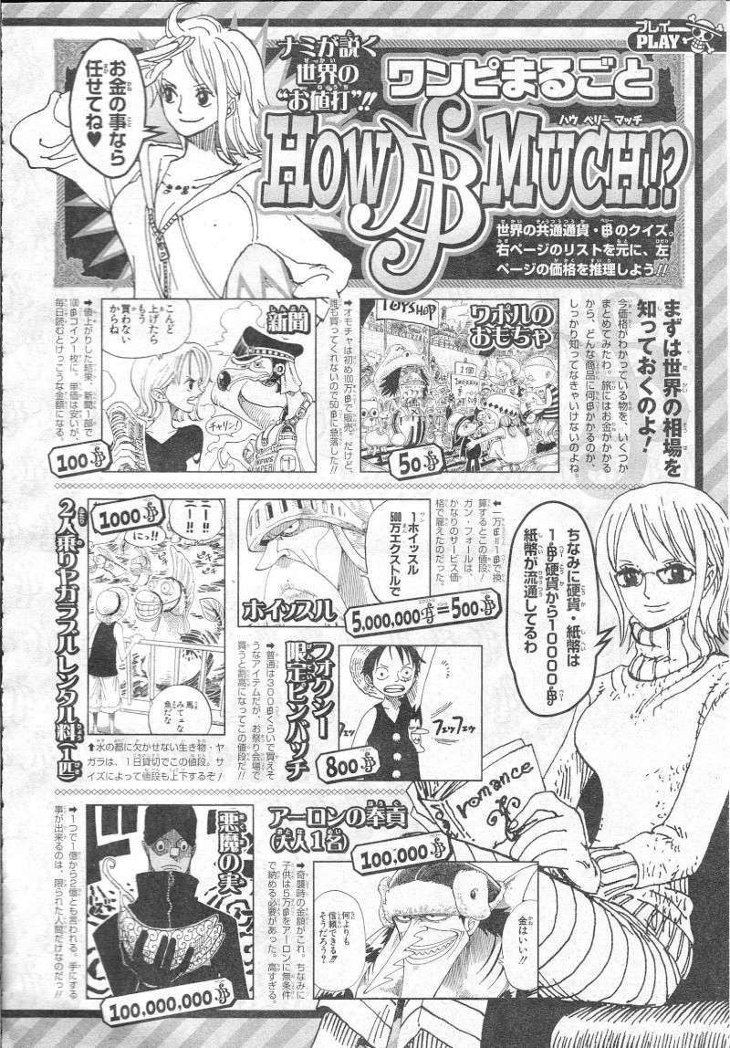 Sonderband One Piece 10th Treasures 06811