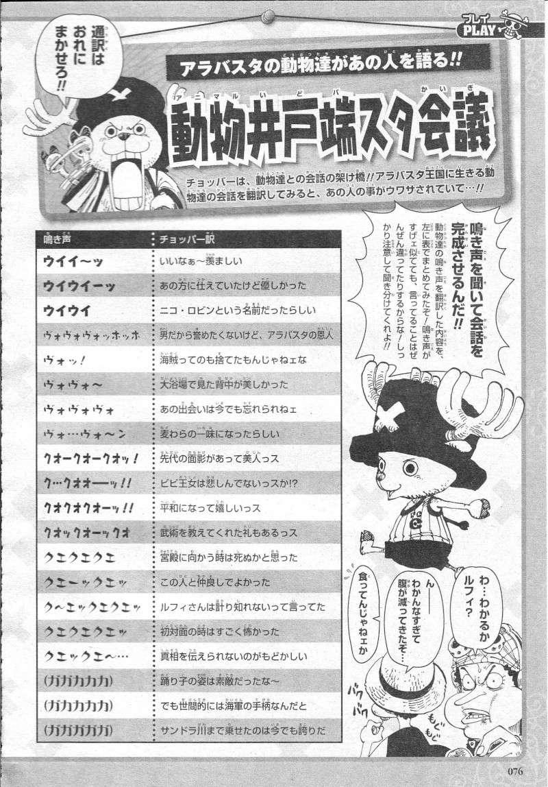Sonderband One Piece 10th Treasures 07610