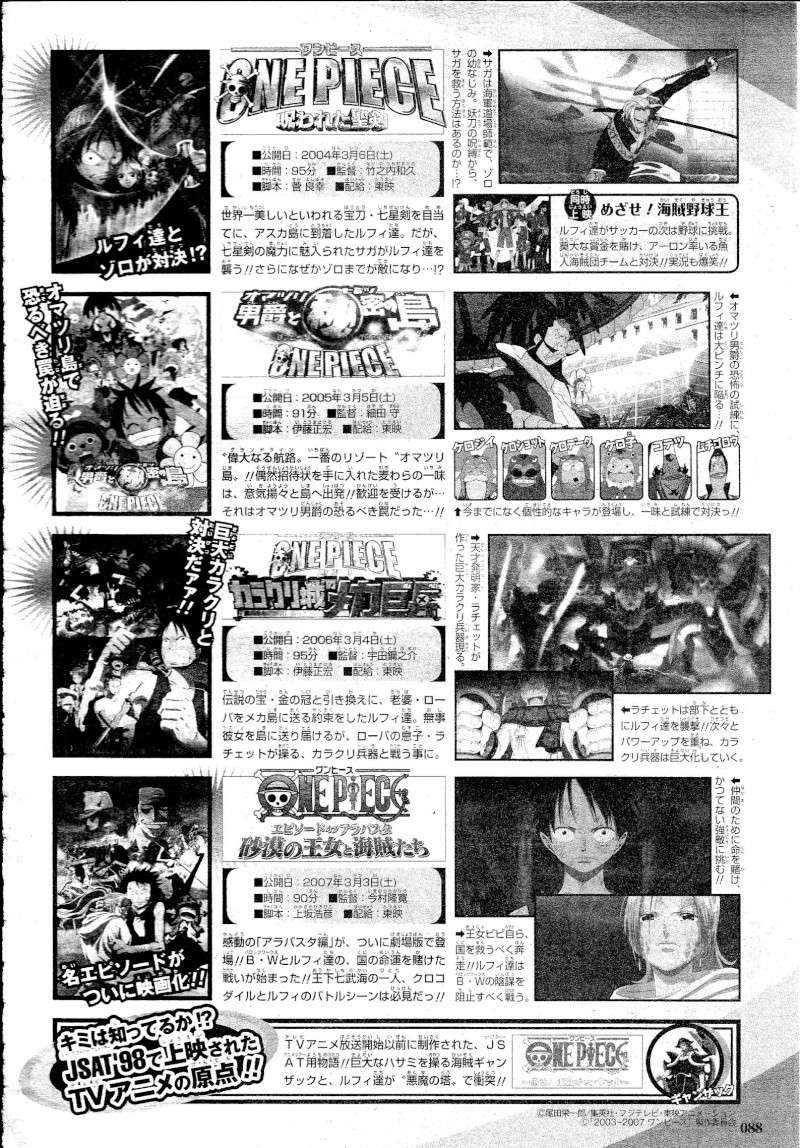 Sonderband One Piece 10th Treasures 08810