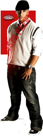 Daddy Yankee parado con boina renders Parado10