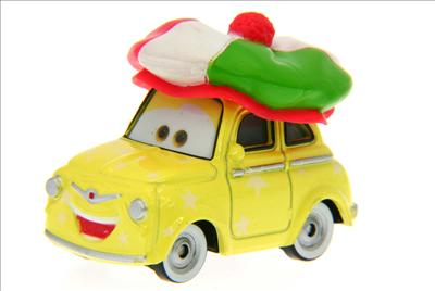Santa Cars, Mater, Luigi, Guido, Fillmore guirlandes (Mater Saves Chistmas) Luigi_10