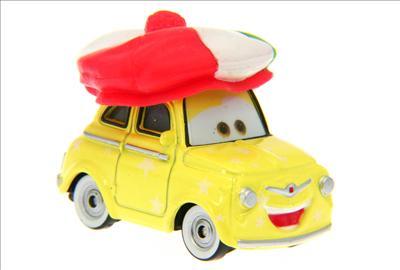 Santa Cars, Mater, Luigi, Guido, Fillmore guirlandes (Mater Saves Chistmas) Luigi_12