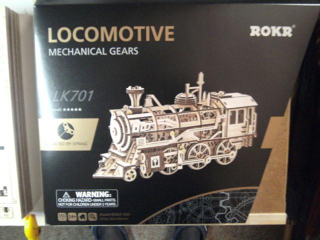 Lokomotive LK701 von ROKR Verpac10