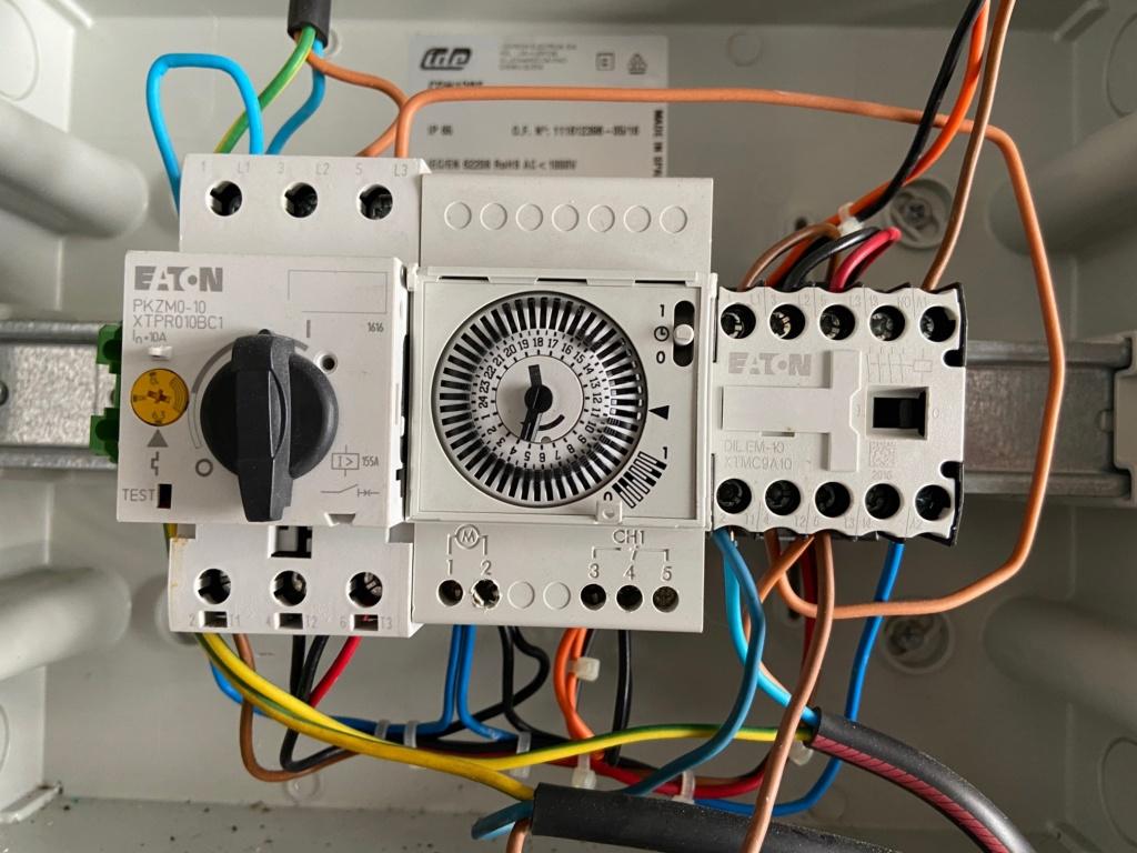 asservissement filtration par PAC POOLEX Tablea10