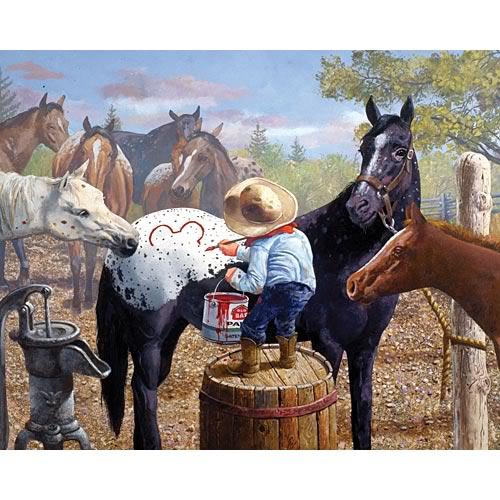 Les beaux dessins de chevaux - Page 2 Appalo10