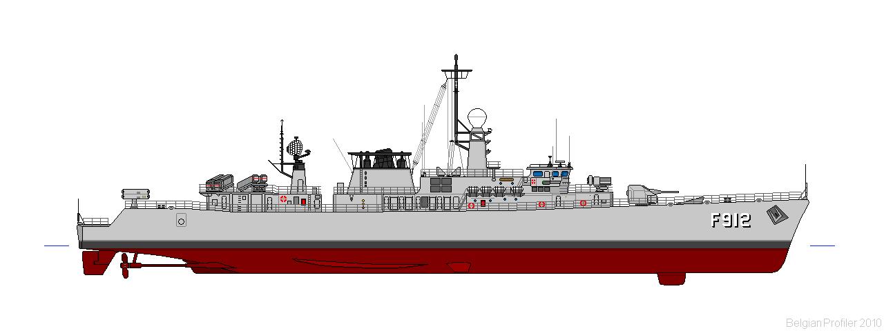PROFILS (10 pixels / Mètre) Frégates E-71 F912wa10