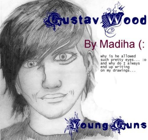 Young Guns drawings. Gus_wo10
