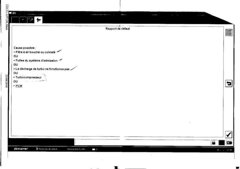 [ FORD GALAXY TDI 110 an 1999 ] probleme de puissance (résolu) Rappor12