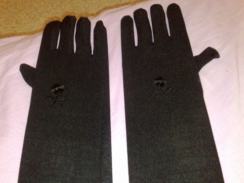 Gants noirs et marrons d Egypte à 1.50€ 19042011