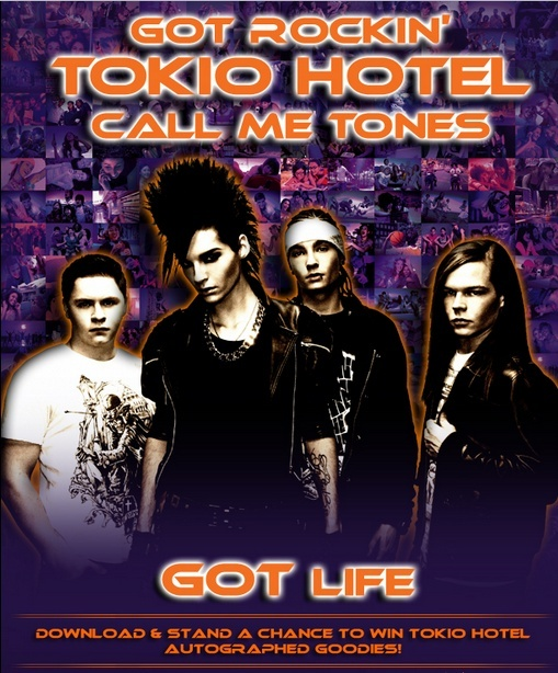 WIN some über-cool merchandise AUTOGRAPHED by TOKIO HOTEL!! Tokio14