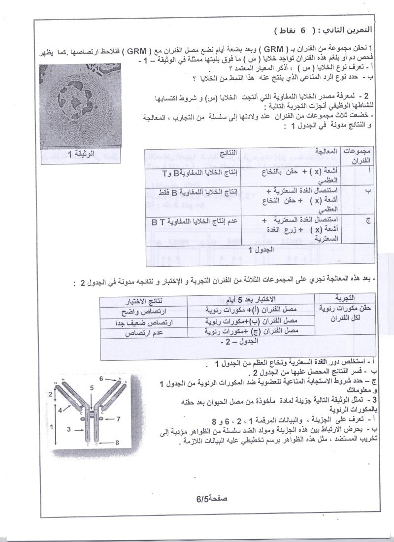 امتحان شهادة البكالوريا التجريبي للتعليم الثانوي - ماي 2011 00510