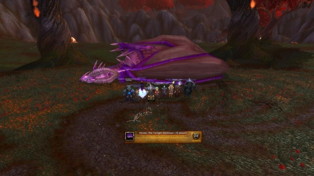 Halion HC Dead; purple dragon didnt last long <3 Rs10